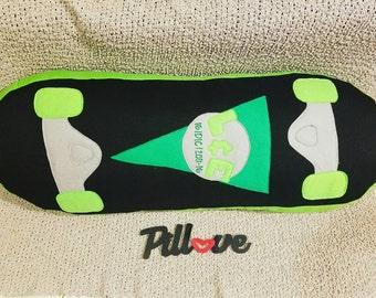 Skateboard Pillow