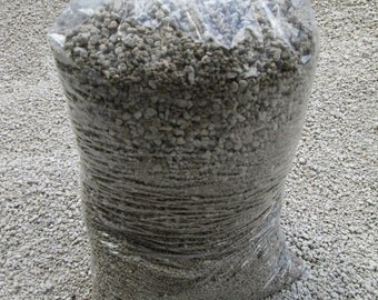 "3.5 Gallon PUMICE - Horticultural Grade - 3/8-1/16"" For Soil Mix, Bonsai & Cactus"