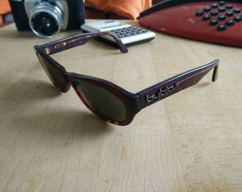 Vintage Byblos tortoise sunglasses made in italy