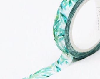 Washi tape, tropical