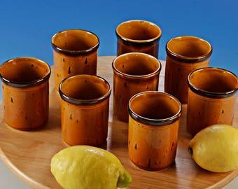 Villeroy & Boch Gallo Provence: 8 Juice Cups