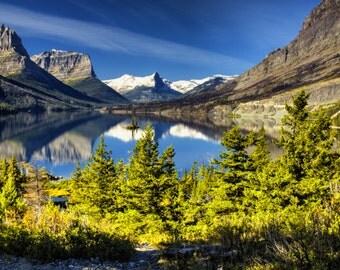 Glacier National Park ~ Lake Saint Mary