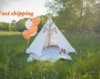 Kids teepee - Medium (poles included)