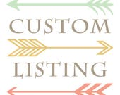 Custom listing for 1 fox bib and 1 camping bib