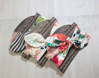 4x6 Headband cards horizontal, personalized  PRINTED you pick weight and design shown and We can add your logo for you