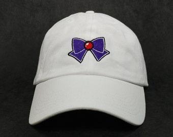 Sailor Mars Bow Cap