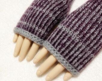 Angola Mohair Wool Fingerless Gloves Only One