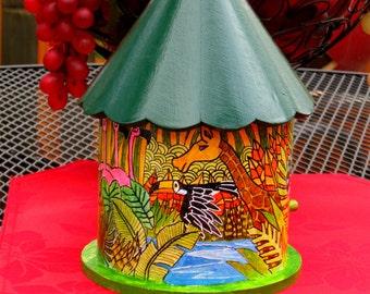 decorative birdhouse