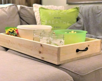 Farmhouse Tray/ Breakfast For Two In Bed Tray/ Family Movie Night Tray/  Coffee