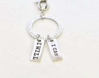 Motivational Keychain Gift, Hope Trust love Dream Keychain, Encouragement Gift For Her, Graduation Gift, Motivation Gift, Inspirational Gift
