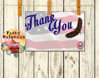 Printable Eagle Scout Thank you card