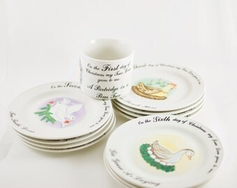12 days of christmas dinnerware set tabletop unlimited christmas china complete set of 11