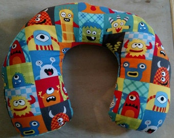 Monsters Children's Neck Pillow