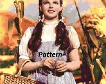 Wizard of Oz #9. Cross Stitch Kit.