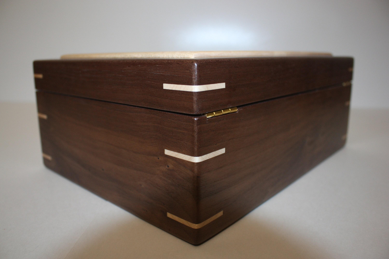 Hinged Lid Wood Box