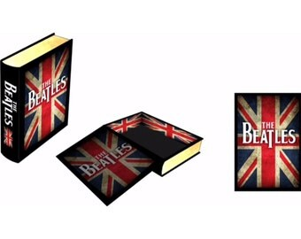 The Beatles inspired faux book/ stash box