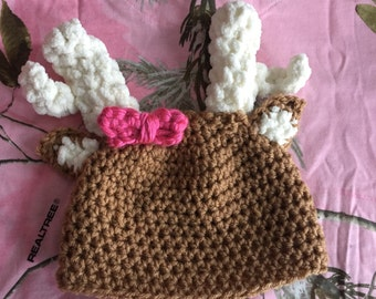 Oh Deer Me hat and diaper cover