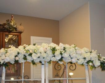 Wedding Arch, Ceremony Arch, Chuppah Arch, Silk Flower Arch, Wedding Arch, Rustic Wedding Flowers, Hydrangea Archway