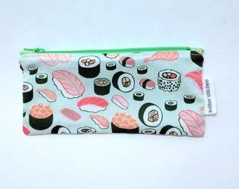 Sushi Zip Pouch