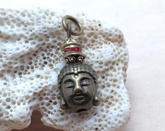 8031 - Pendant   Bouddha and Zwarovski