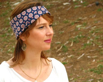 Printed headband, turban twist head band, accessory, twist head band,wig accessory,top knot headband,twisted headband,women's headband