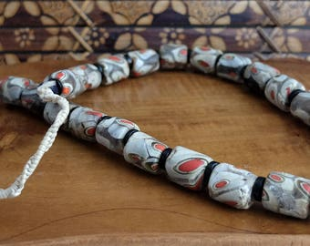 Vintage Nepalese Glass Bead Necklace