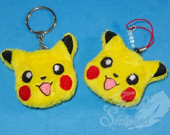 MADE TO ORDER- Pikachu Pokemon Soft Charm/ Screen Cleaner