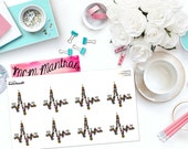 "MCM MANTRAS: ""Healing is not linear"" Paper Planner Stickers!"