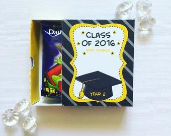 Graduation matchboxes