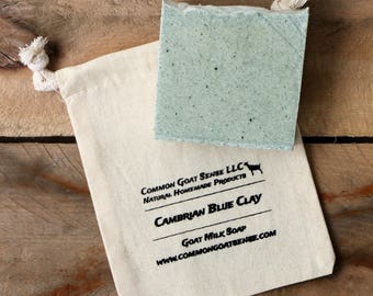 Cambrian Blue Clay Goat Milk Soap