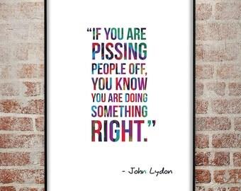 John Lydon Quote