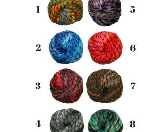 Chunky Knit Yarn Super Bulky Yarn Bulky Knitting Yarn Super Chunky Yarn Arm Knitting Yarn Knitting Diy Kit DIY Gift DIY Crafts Mix Yarn CHA