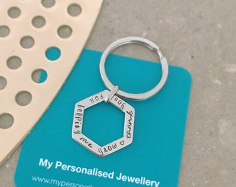 teacher gifts, appreciation gifts, nanny gift keychain gifts for teacher Personalised teacher gift - Teacher Keyring