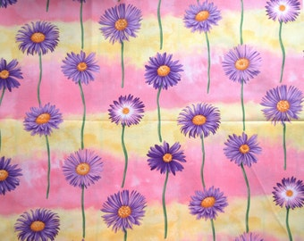 Aster Flower Fabric - Flower of the Month - September 2830 - Ro Gregg for Northcott - Quilters Cotton - Price per Yard
