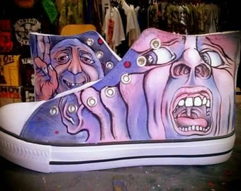 In the court of the Crimson King Handmade All stars