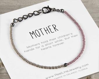 Mother's Gift, Split Color Bracelet, Mother's Day Gift, Mother's Birthday, Mom Gift, Mothers, Moms, Friendship Gifts