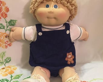 Little Boy Cabbage Patch Doll