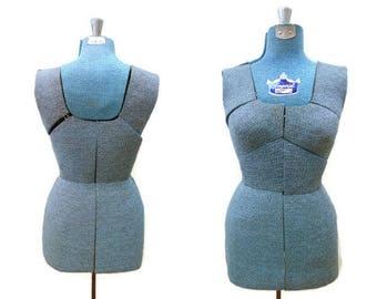 Vintage Imperial Mannequin Dress Form, Adjustable Size B Medium