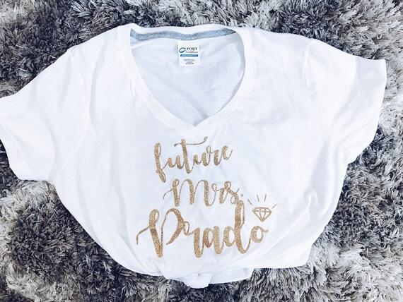 Mrs. Tee | Custom Mrs. Tank | Future Mrs. T shirt