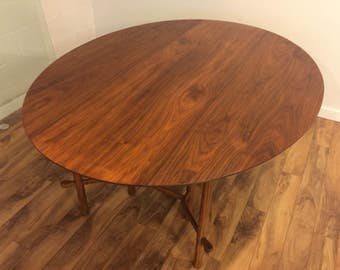 Heritage Henredon Mid Century Drop Leaf Dining Table