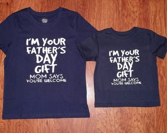 Fathers Day Shirt - kids shirt - fathers day- kids