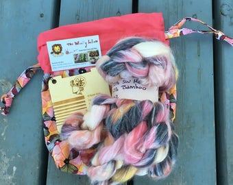 READY TO SHIP - Woolly Lion/BurningImpressions Spinnerzz Kit