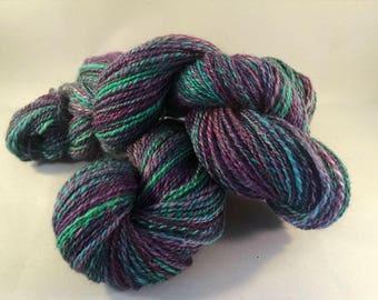 Handspun luxury yarn - DK weight  (#639)