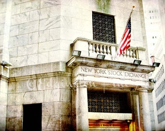 New York City Photography, NYC, travel photo, New York City photo, architecture, home decor, gold, New York Stock Exchange, urban decor