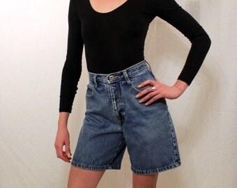 1990's High-Waisted Jean Shorts