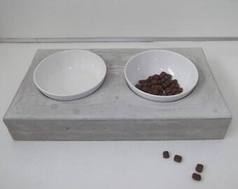 Concrete Bowl bar Futterbar food bowl nature 44 cm