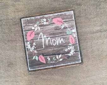 Wooden magnets, fridge magnets, farmhouse kitchen decor, wood magnets, customized magnet, personalized magnets, mom magnet, farmhouse magnet