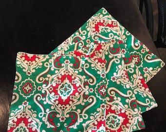 Christmas napkin set