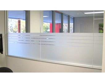 Blank Frosted Window Decals