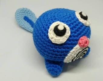 Handmade crocheted amigurumi Poliwag Pokémon - READY TO SHIP -